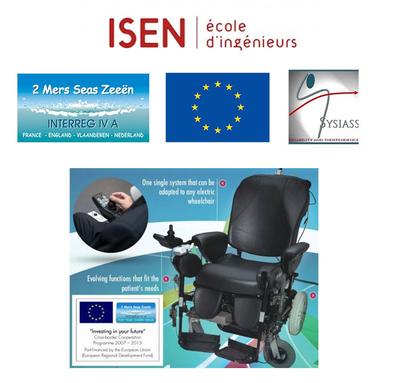 Le fauteuil roulant intelligent mis au point par des chercheurs de l'ISEN...