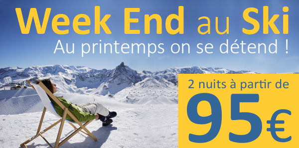 week end au ski partez skier en mars. Black Bedroom Furniture Sets. Home Design Ideas