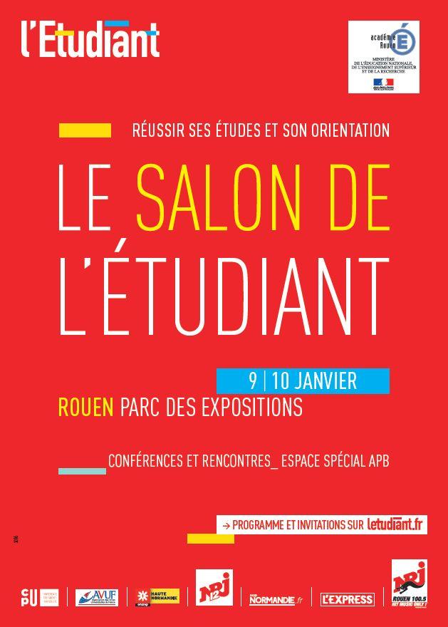 Salon de l etudiant de rouen for Salon emploi rouen