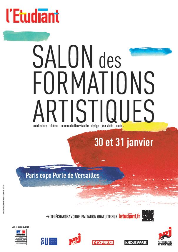 Salon de l 39 etudiant formations artistiques de paris for Porte ouverte salon de l etudiant