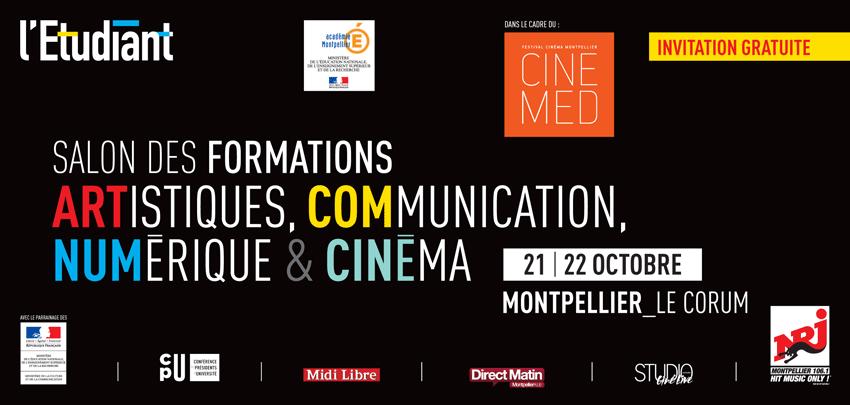 Salon des formations artistique communication num rique for Salon de formation