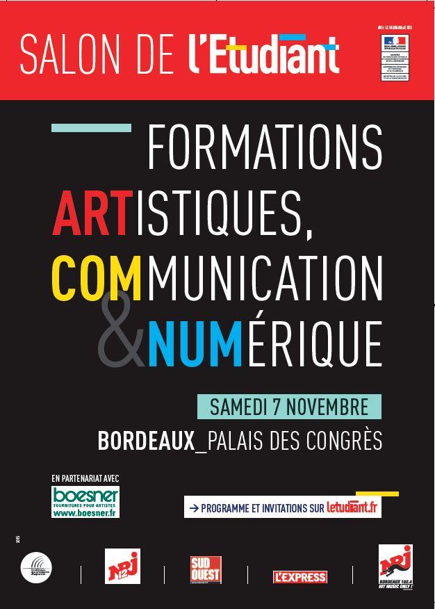 Salon des formations artistiques communication et - Salon emploi bordeaux ...