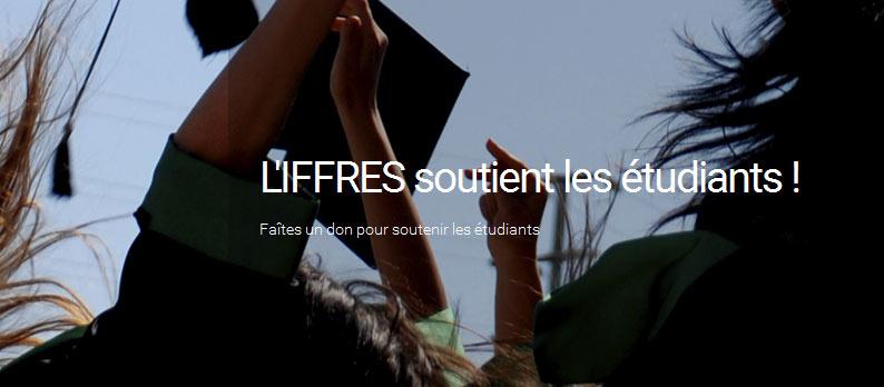 L'IFFRES soutient les étudiants et les associations étudiantes