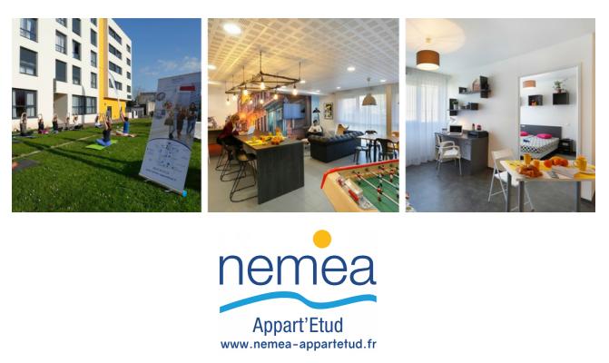 Nemea lance un service de coaching sportif  dans ses résidences étudiantes Appart'Etud