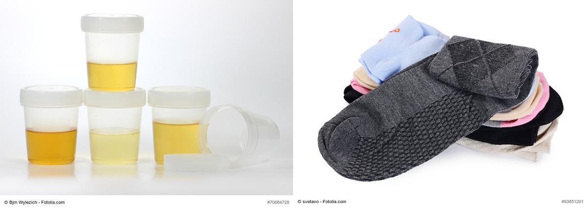 les chaussettes qui utilisent de l 39 urine pour cr er de l 39 lectricit. Black Bedroom Furniture Sets. Home Design Ideas