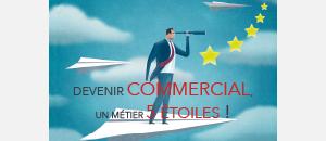 Devenir commercial : Un métier 5 étoiles!