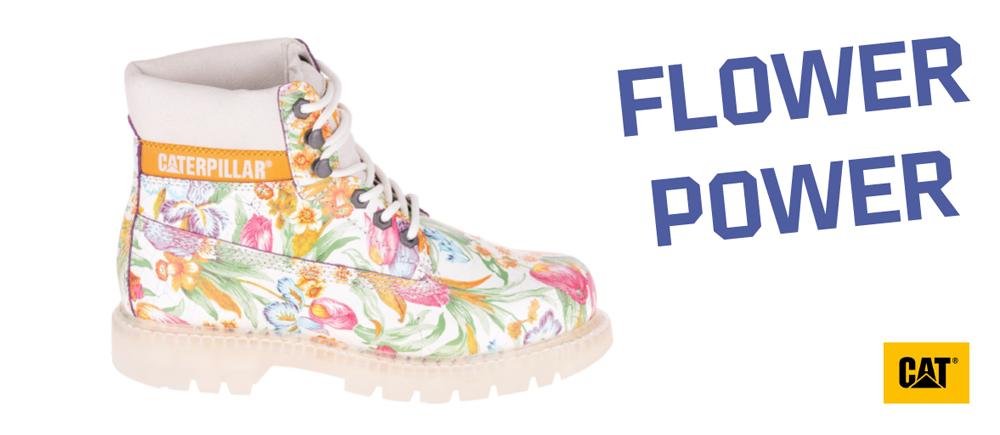 Cat Footwear très tendance florale