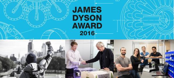 l u2019 u00e9dition 2016 du james dyson award est officiellement ouverte