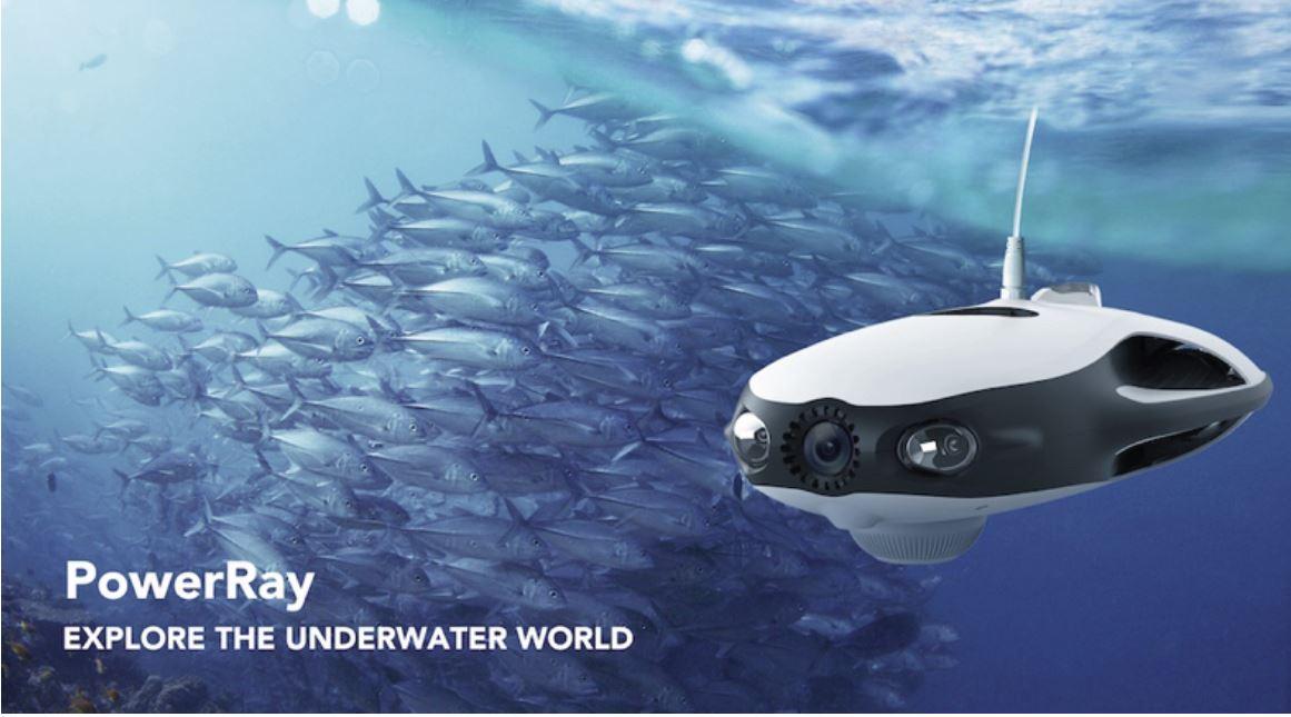 Geek et passionné de pêche: pourquoi ne pas opter pour un robot sous marin personnel?