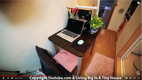Vidéo : Tour d'un appartement japonais minuscule, mais confortable !