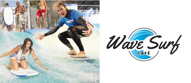 Wave Surf Café ou comment faire du surf indoor!