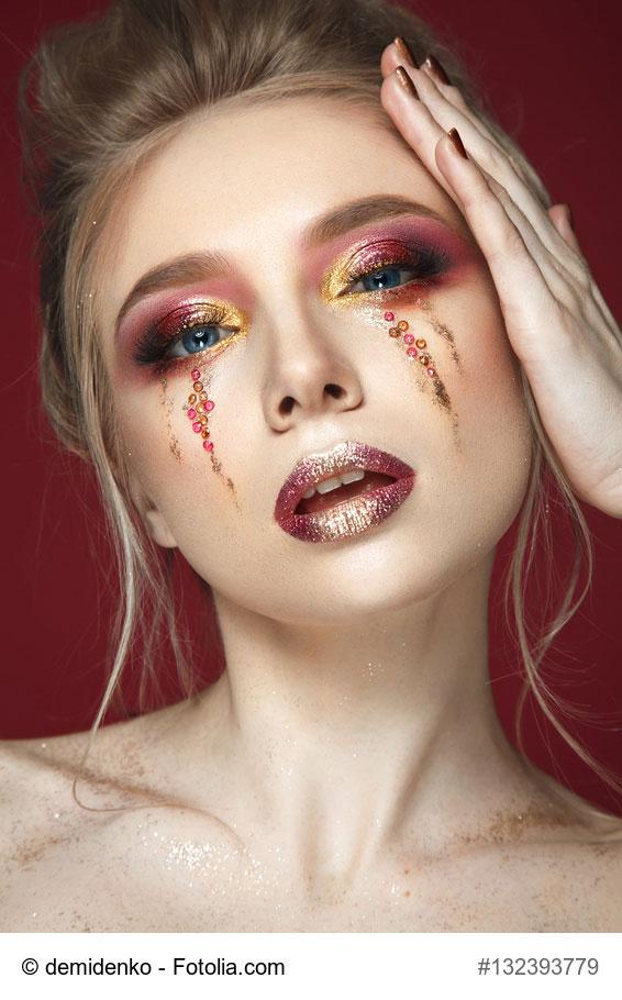 Maquillage : Glitter Tears, la nouvelle tendance 3D