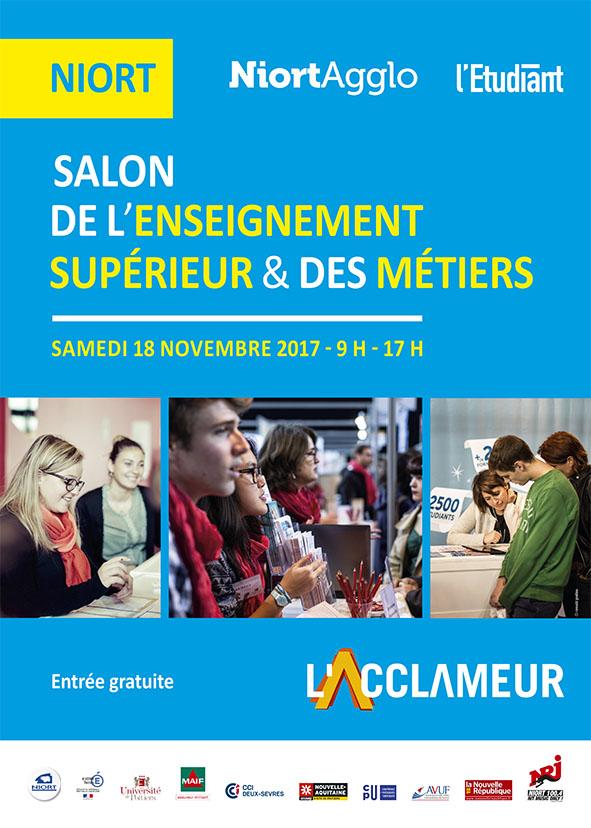 Salon de l 39 enseignement sup rieur et des m tiers de niort - Salon de l enseignement superieur montpellier ...