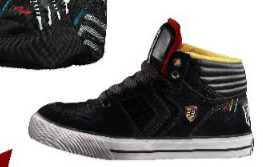 Sneakers Phantom Mid Black Yellow