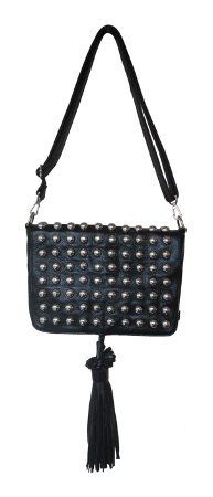 HYSTERIA LEATHER SCHOULDER Sac LOLLIPOPS