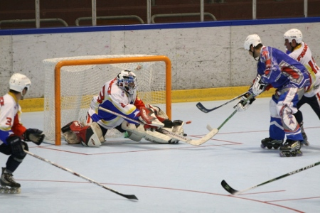 Roller in line hockey 2