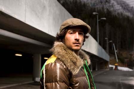 David Livet, le snowboarder de Méribel - Les Allues