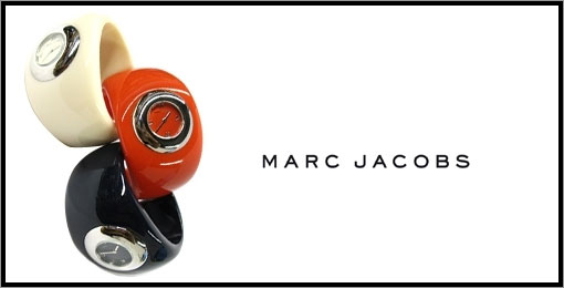 Cuff Watches par Marc Jacob