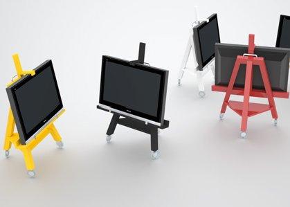 tv easel. Black Bedroom Furniture Sets. Home Design Ideas